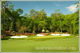 Augusta Golf 13th hole