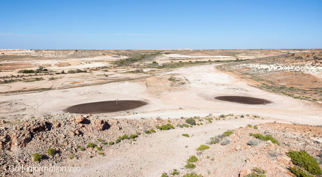 Coober Pedy Golf course, South Australia. Stock photo © markrhiggins.