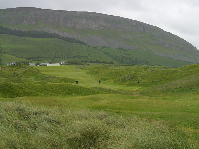 15th hole, Strandhill Golf Course, Strandhill, Ireland.